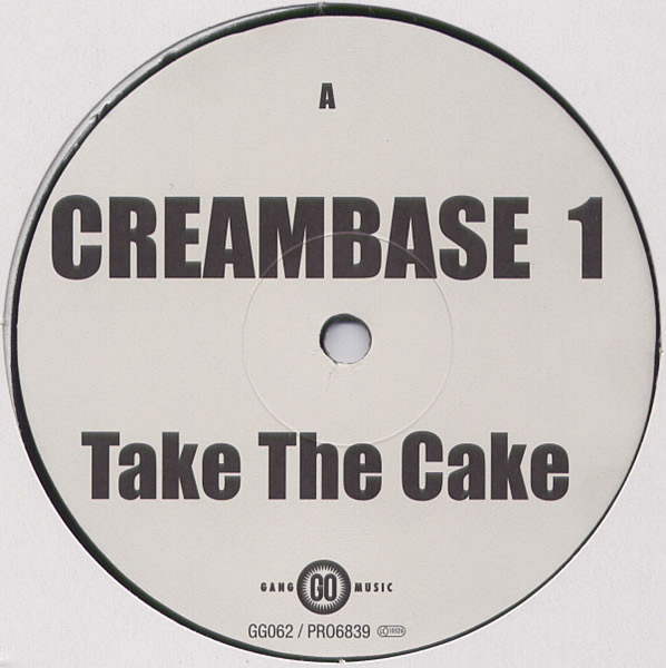 Creambase 1 - Take The Cake Album