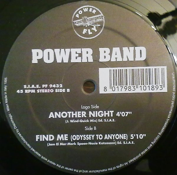 Power Band - Another Night / Find Me (Odyssey To Anyone)