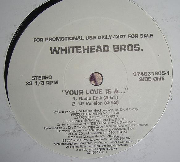 Whitehead Bros. - Forget I Was A