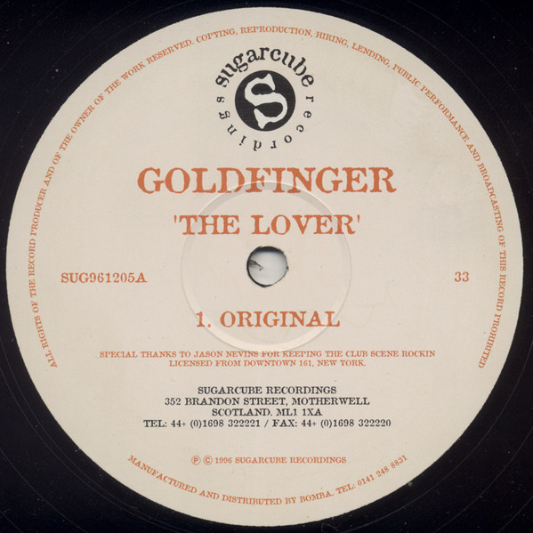 goldfinger records lps vinyl and cds musicstack