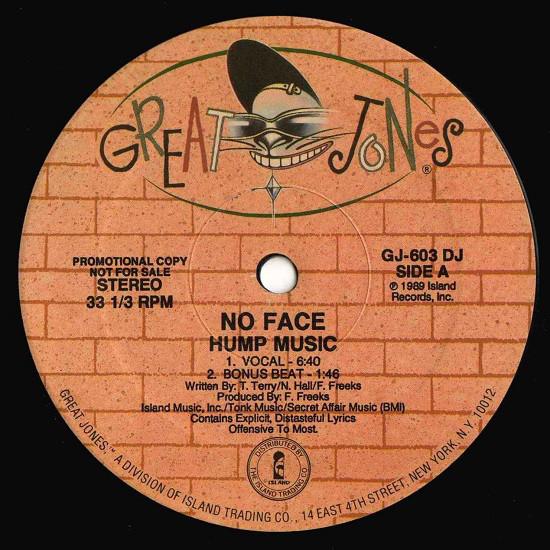 No Face - Hump Music LP