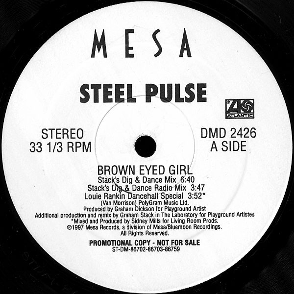 Steel Pulse Brown Eyed Girl Records Lps Vinyl And Cds