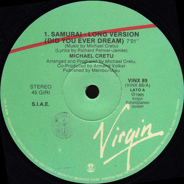 Michael Cretu - Samurai (did You Ever Dream)