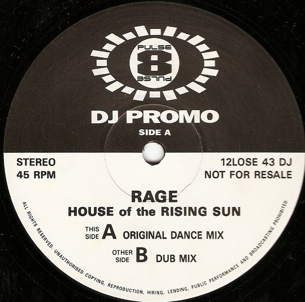 House Of The Rising Sun - Rage