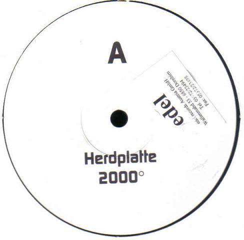 Herdplatte 2000