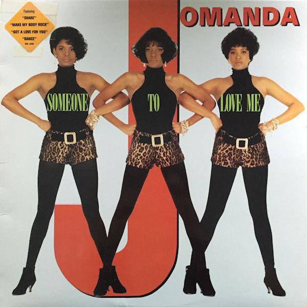 Jomanda - Someone To Love Me Record