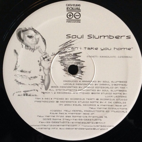 Soul Slumbers Feat. Darryl D'Bonneau - Can I Take You Home
