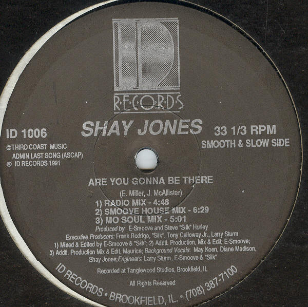 Shay Jones - Are You Gonna Be There