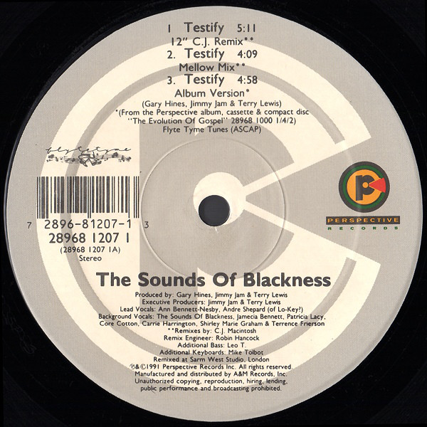 Sounds Of Blackness - Testify