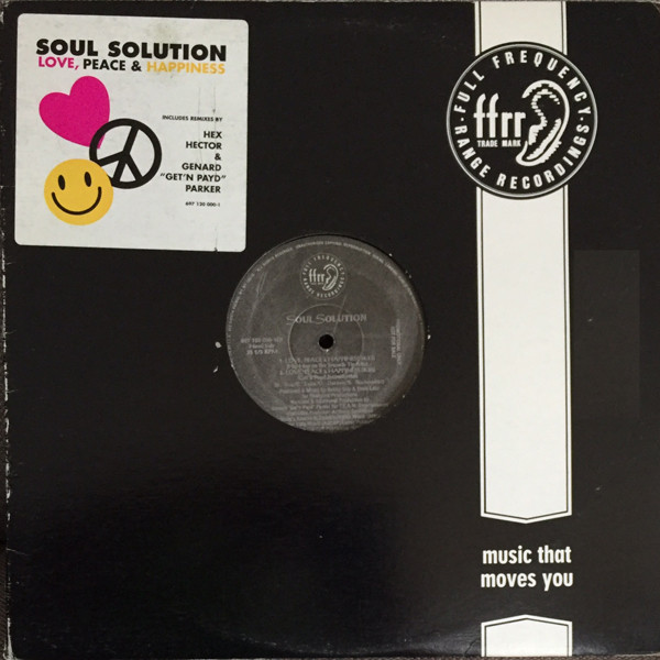Soul Solution - Love, Peace & Happiness Album