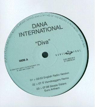 DANA INTERNATIONAL - Diva - 12 inch 45 rpm