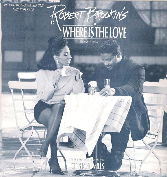 Robert Brookins Featuring Stephanie Mills - Where Is The Love CD