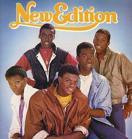 New Edition - New Edition Record