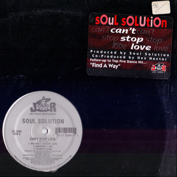 Soul Solution - Can't Stop Love