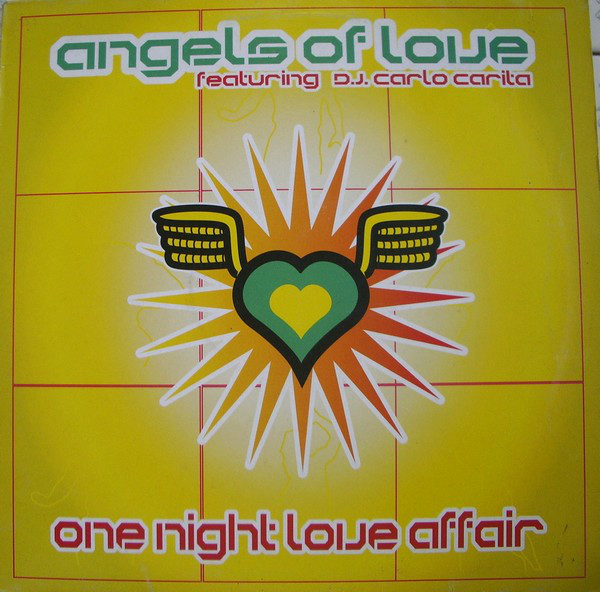 Angels Of Love Featuring Carlo Carita - One Night Love Affair LP