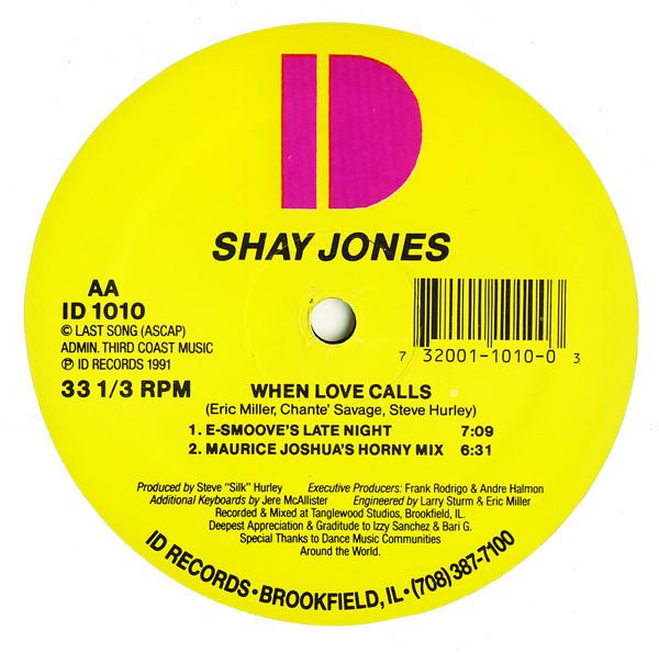 Shay Jones - When Love Calls