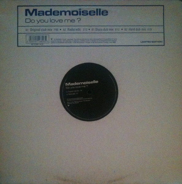 Mademoiselle Do You Love Me Records Lps Vinyl And Cds