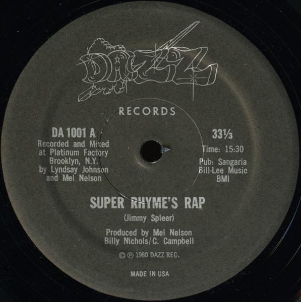 Super Rhyme's Rap
