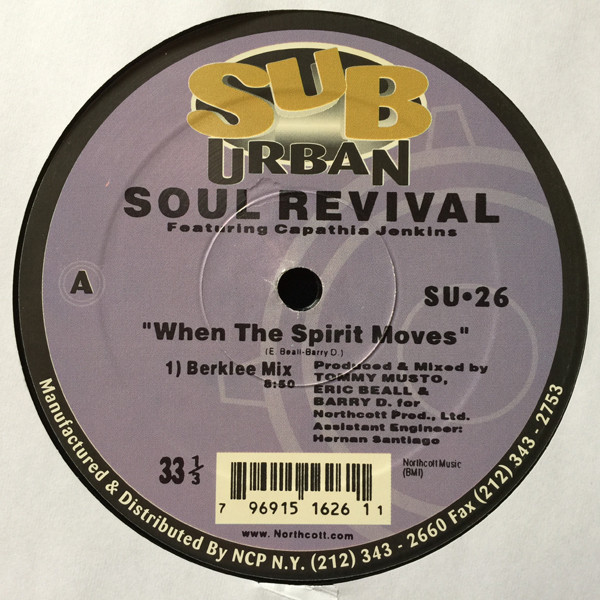 When The Spirit Moves - Soul Revival Featuring Capathia Jenkins