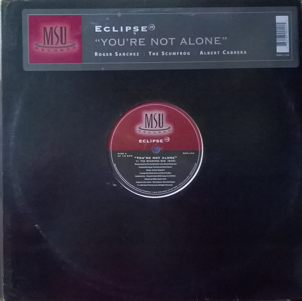 Eclipse 29 - You're Not Alone
