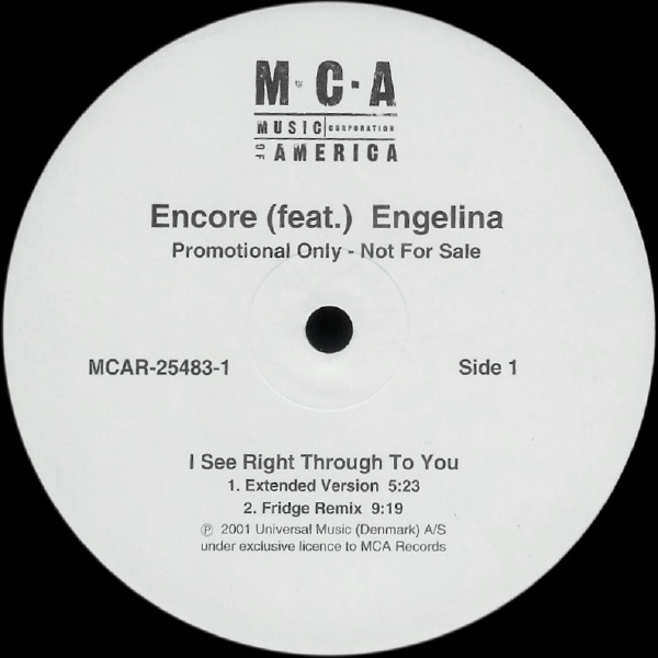 dj encore i see right through to you