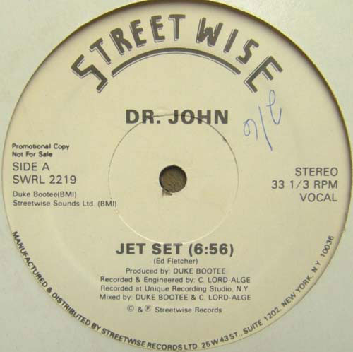 Dr. John - Jet Set Record