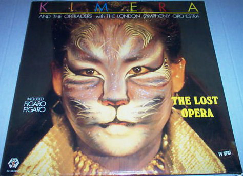 Kimera (3) & Operaiders, The With London Sympho - The Lost Opera