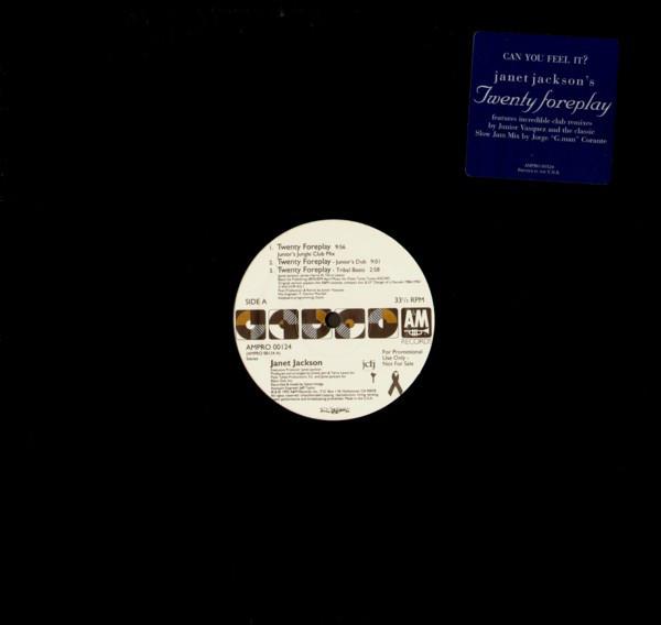 Janet Jackson - Twenty Foreplay EP