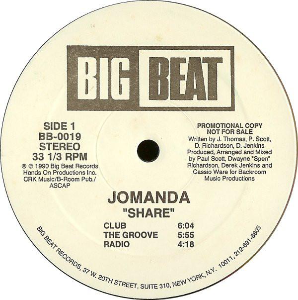 Jomanda - Share / Searchin'