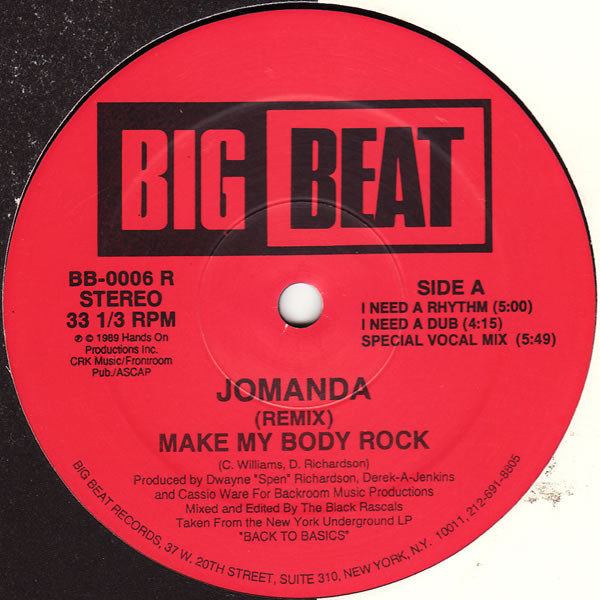 Jomanda - Make My Body Rock (remix)