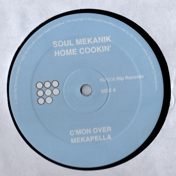 Soul Mekanik - Home Cookin'