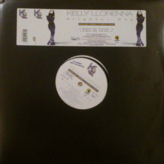 KELLY LLORENNA - Brighter Day (Mega 'Lo Mania Remixes) - Maxi 45T