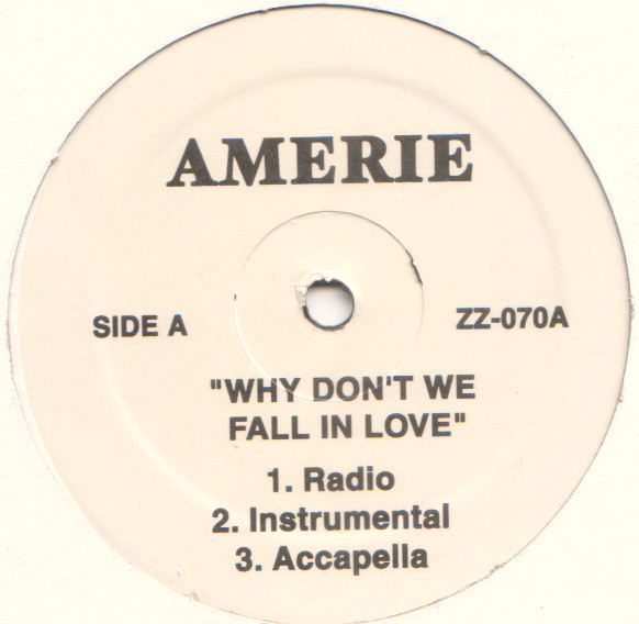Amerie Why Don T We Fall In Love Records Lps Vinyl And