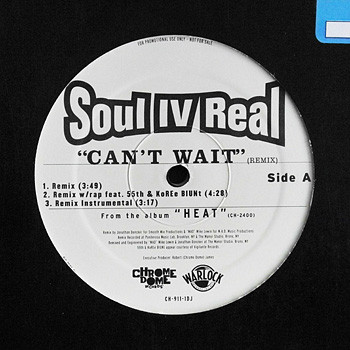 Soul For Real - Can't Wait Remix