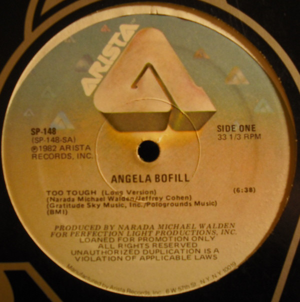 Angela Bofill - Too Tough LP