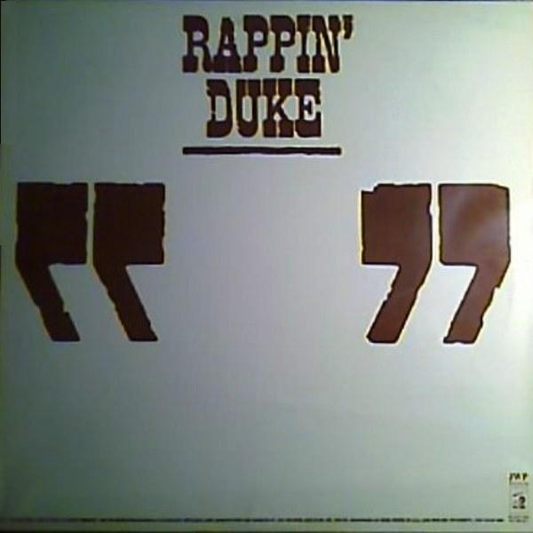 Rappin' Duke - Rappin' Duke LP