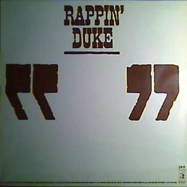 Rappin' Duke - Rappin' Duke Record