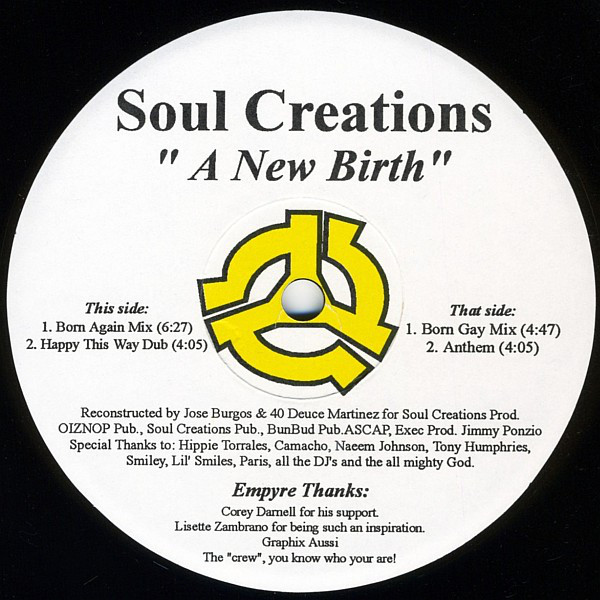 Soul Creations - A New Birth