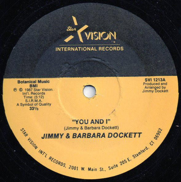 Jimmy Dockett & Barbara Stroman - Honey, That Strange & Funny Feeling