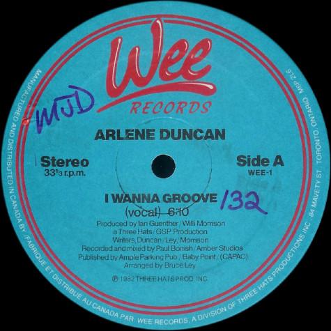 Arlene Duncan - I Wanna Groove