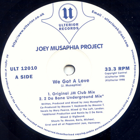 Joey Musaphia Feat. Lisa Millett - You Are The Best