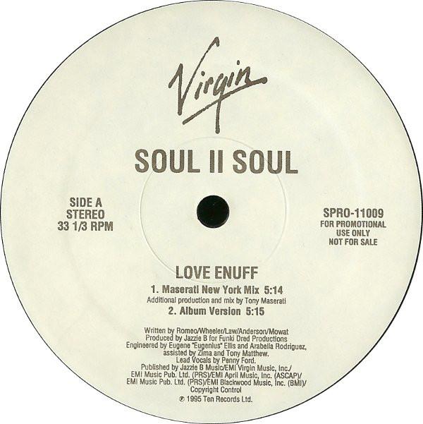 Soul II Soul - Love Enuff EP