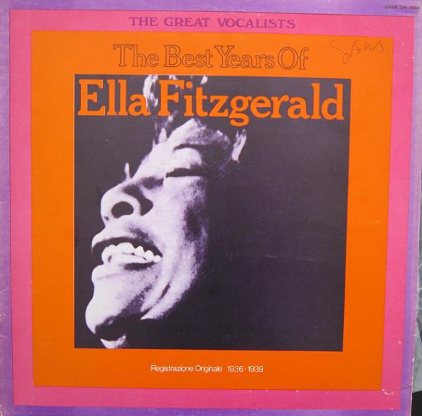 Ella Fitzgerald The Best Of Ella Fitzgerald Vinyl Records