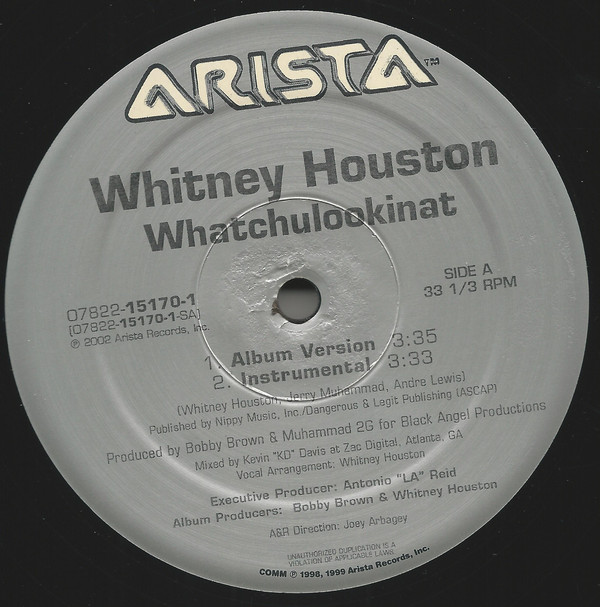 Houston Whitney Whatchulookinat Records Lps Vinyl And