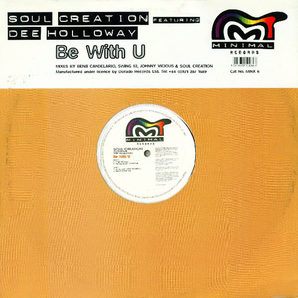 Soul Creation feat Dee Holloway - Be With U Album