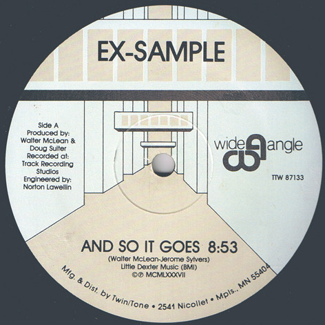 Ex-Sample - And So It Goes