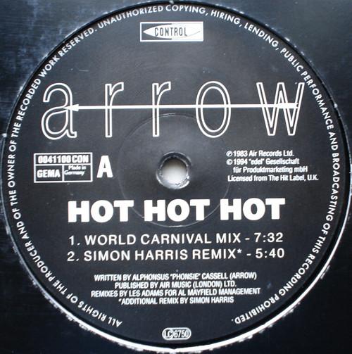 Arrow - Hot Hot Hot - The '94 Remixes