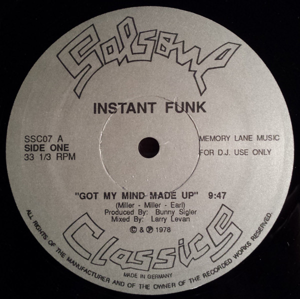 Instant Funk Greatest Hits : Instant funk records lps vinyl and cds musicstack