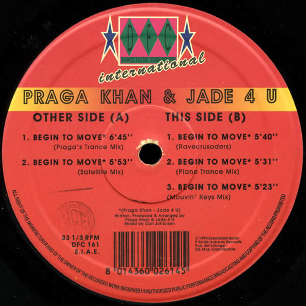Praga Khan Featuring Jade 4U - Free Your Body (Injected With A Poison)