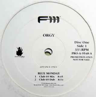 Orgy Blue Monday Album 105